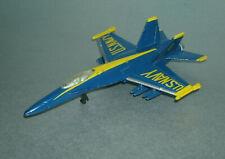 1/135 Scale U.S. Navy Blue Angels McDonnell Douglas F/A-18c Hornet - Maisto
