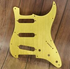 Brushed Gold Metal Scratchplate/Pickguard for SSS Strat with Screws Brand New