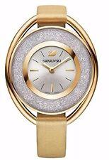 New Swarovski Crystalline Oval Gold Tone Watch