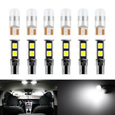 T10 Interior LED Dome Trunk Map Lights Globes Kit For VW Golf Polo Passat Jetta