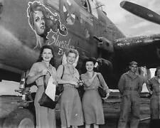 WWII B&W Photo Ann Sheridan Visits China 14th Air Force WW2 Hollywood  / 1248
