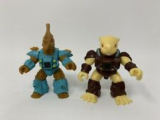 Battle Beasts. Hasbro. Beaver (wood) And Seahorse (wood)