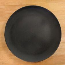"""IKEA of Sweden Smooth Matte Satin Slate Dark Grey Round Dinner Plate 10.25"""""""