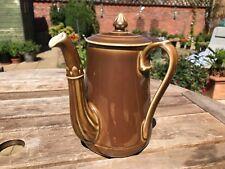 Antique Pillivuyt Porcelain Teapot Coffee Chocolate Pot French Porcelain Vintage
