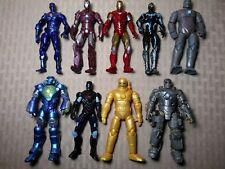 "Hasbro Marvel 3.75"" Figure Lot Iron Man Mark I Gold Zero Gravity Deep Dive +"