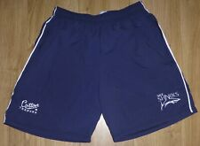 """SALE SHARKS RUGBY-Size 30"""" Waist Embroidered Sports/Casual Shorts-NEW-Navy/White"""