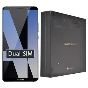 New Huawei Mate 10 Pro BLA-L29 128GB Grey Dual-SIM Factory Unlocked 4G/LTE GSM