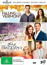 Hallmark 3 Film Collection (region 4) DVD Falling for Vermont First Dance