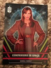 Topps Doctor Who Extraterrestrial 2016 Companions In Space Card 10 Donna Noble