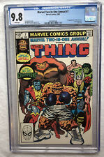Marvel Two-In-One Annual 7 CGC 9.8 First Appearance of the Champion MCU Spec KEY