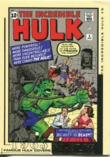 The Hulk Film And Comic Cards Famous Hulk Covers Chase Card FC05