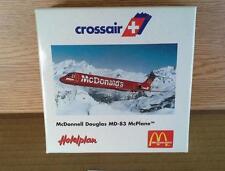 NEW HERPA WINGS CROSSAIR MCDONNELL DOUGLAS MD-83 MCPLANE MCDONALD'S 1:500 MIB