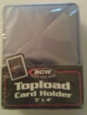BCW Topload Card Holders. 3x4 25 pc. New                                (B10)