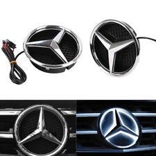 Illuminated LED Light Front Grille Star Emblem Badge for 2011-2016 Mercedes Benz