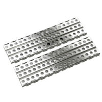 10X(2Pcs Stainless Steel Sand Ladders Board for Axial SCX10 TRX-4 D90 1/10 K5R1