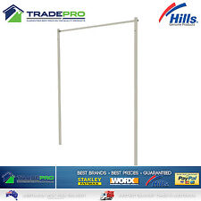 Hills® Ground Mount Post Kit Fold down Single & Double Folding Frame Clothesline