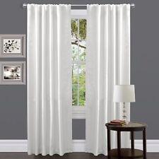 Lush Decor Venetian Curtain Panel, White , New, Free Shipping