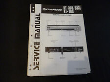Original Service Manual Kenwood KT-333/333L KT-100