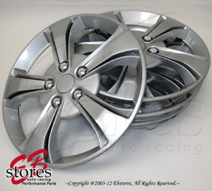 """4pcs Set of 14 inch Wheel Rim Skin Cover Hubcap Hub caps (14"""" Inches Style#616)"""
