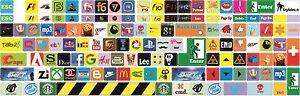 Universal Keyboard stickers decal Decoration Logo,Brands