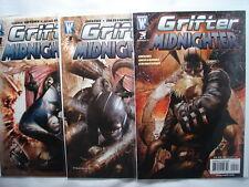 C 1535 Wildstorm Comics 2007 GRIFTER MIDNIGHTER Vol 1 Nos. 1, 3, and 5  MINT Con