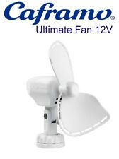 Ultimate 747 Fan Caframo 12 Volt White Caravan / Boat Ultimate 747 Fan