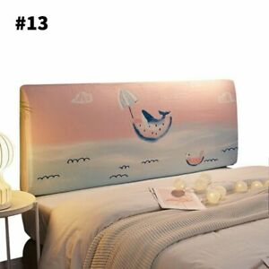 Bedside Cover Cartoon Printing Bed Headboard Cover Dust Cover Bedding Decoration