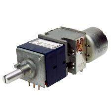 ALPS RK27112MC Potentiometer 10K logarithmisch mit Motor stereo RK27 Das Blaue