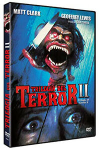 Trilogy of Terror II NEW PAL Cult DVD Dan Curtis Lysette Anthony