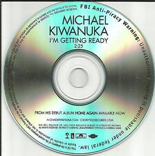 MICHAEL KIWANUKA I'm Getting Ready TST PRESS PROMO Radio DJ CD Single 2011 USA