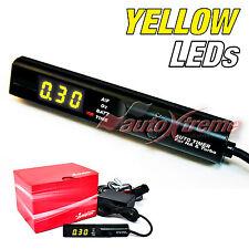 Turbo Timer JDM na Turbo Unidad de Lápiz Negro Amarillo Digital LED Apexi Estilo Universal