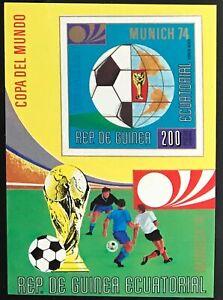 Equatorial Guinea #MiBl77 MNH S/S CV€8.00 FIFA World Cup