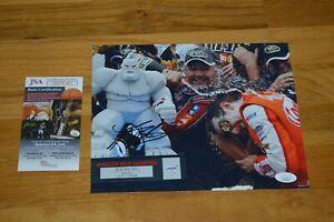 Kyle Busch Autographed 8x10 Color Photo with JSA COA ~ NASCAR