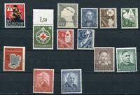 Germany 1953 Mi 162-176 MNH/MvLH Complete Year (-2 stamps) CV 232 euro 2494