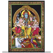 Indian Wall Hanging Textiles Cotton Poster Bohemian Shiva Decoration Mat Throw