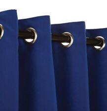 "New Sunbrella Outdoor/Indoor Curtain Panel Blue Sunbrella 50"" by 84�"