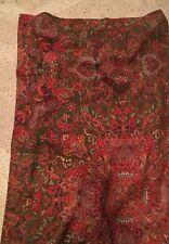 Ralph Lauren Galahad Aragon Medieval CottonSateen KING Sham. Bright Colors!!