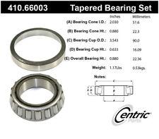 Wheel Bearing and Race Set-Premium Bearings Centric 410.66003