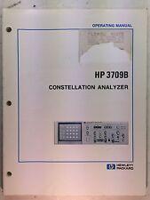 HP 3709B Constellation Analyzer Operating Manual P/N 03709-90001