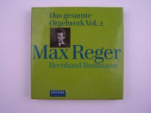 Max Reger: Das Gesamte Orgelwerk Vol 2 4xCD Box-Set Bernhard Buttmann