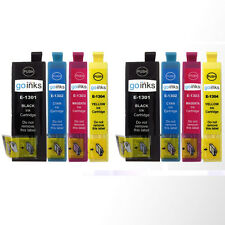8 Ink Cartridges XL (Set) for Epson Stylus Office BX535WD & BX635FWD