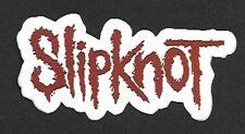 Slipknot Logo Die Sticker, Heavy Metal Band, 1990s Vintage Stock, New