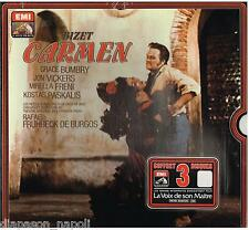 Bizet: Carmen / De Burgos, Bumbry, Vickers, Pads - LP Emi