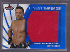 2012 Finest UFC Threads Jumbo Fighter Relics X-Fractors Renzo Gracie 007/188