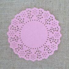Paper Lace Doilie - 20 pink - 4.5 inch - party/invitation decoration