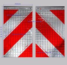 Warnmarkierungsatz L+R für Hebebühne Ladebordwand Hubladebühne StVZO§53bAb5