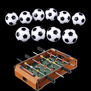 10pcs 32mm Plastic Soccer Table Foosball Ball Football FussballYUyu