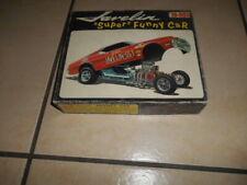 RARE JOHAN 1968 JAVELIN FUNNY CAR FLAT BOX KIT UNBUILT