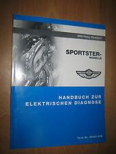 Harley Handbuch elektrische Diagnose Sportster Modelle 99495-03G XLH 1200 883