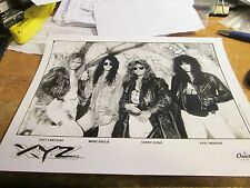 Xyz Promotion Photo Vintage 90'S Promo Shot 8 X 10 Collectable